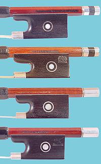 Antique Bows for Violin Viola Cello